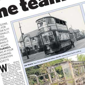 Leicester Mercury Tram 31 Group Article